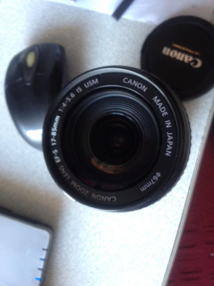 Canon 17-85 lens toz temizliği
